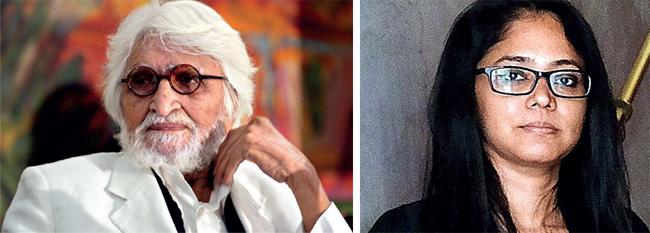 M F Husain; Shilpa Gupta