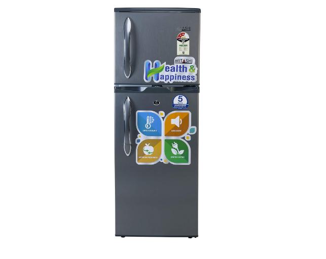 Mitashi 145 L 3 Star Direct Cool Double Door Refrigerator