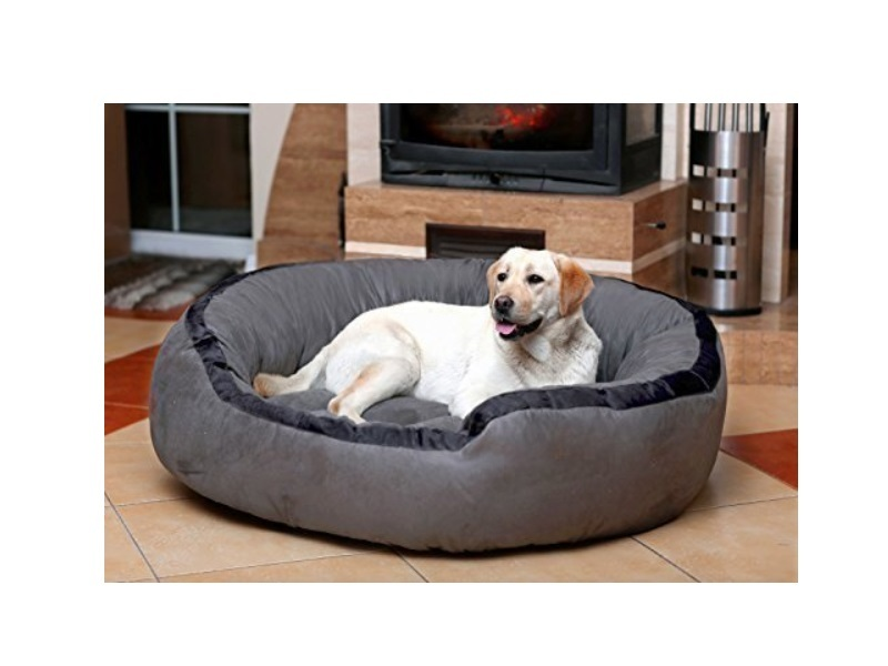 Petitude Ultra Soft Ethnic Velvet Bed for Dog and Cat