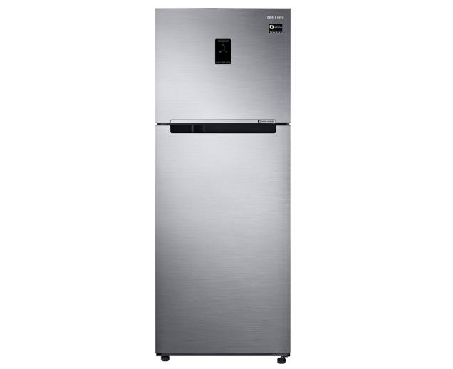 Samsung 415 L 4 Star Frost Free Double Door Refrigerator (RT42M553ES8/TL, Elegant Inox, Convertible, Inverter Compressor)