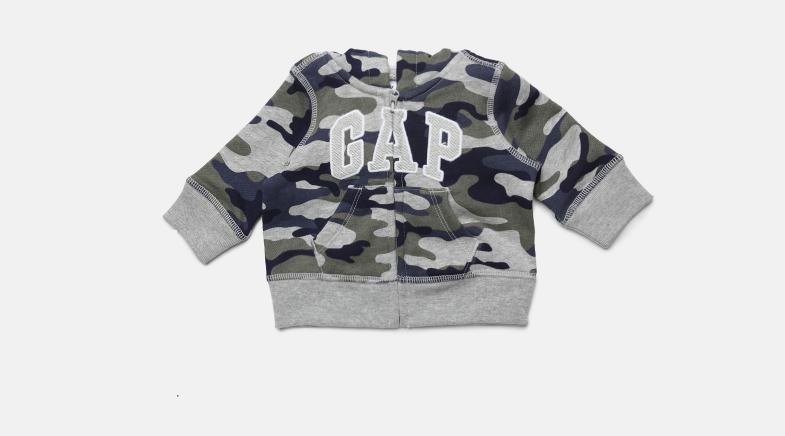 Baby Boys' Logo Print Hoodie Sweatshirt