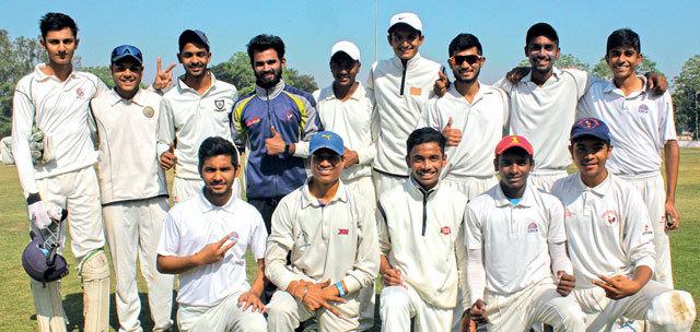Hiramani School registered a mammoth 213-run win in the final match ; Photo: NILKANTH DAVE