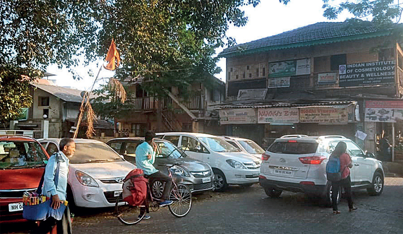 Residents allege the BMC's Jan 1 notices were pasted on trees