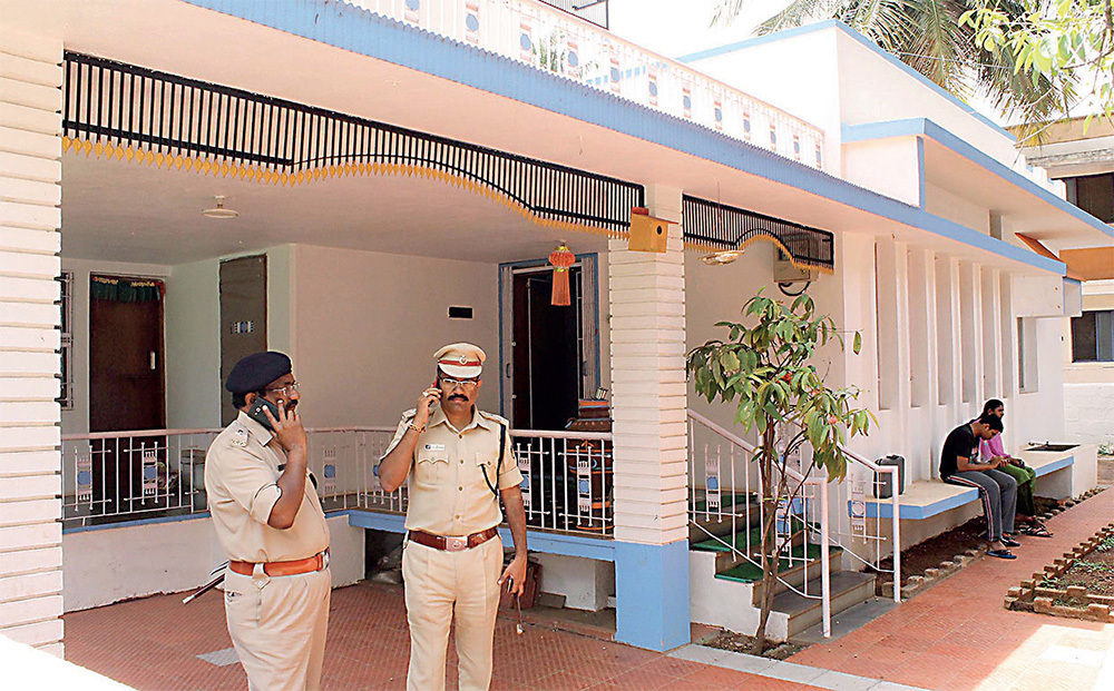 Prof MM Kalburgi was shot in the head at the door of his house in Dharwad