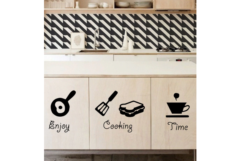 Functional wall stickers for the Kitchen
