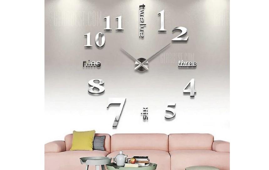 Unique Gadget DIY Wall Clock 3D