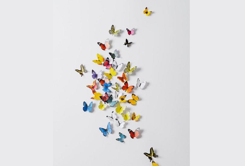 3D Butterflies' Wall Sticker