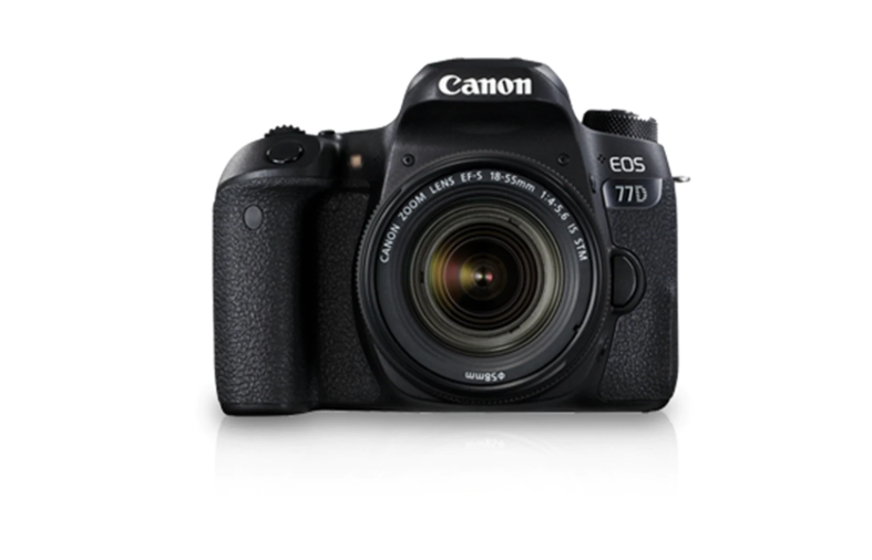 Canon EOS 77D Camera Kit with 16GB memory card on offer