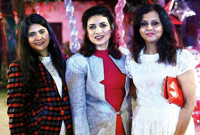 Shweta, Monika and Vaishali (BCCL/ Pankaj Singh)