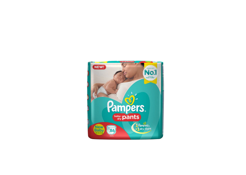Pampers Pants Diapers New Born Size 86 pc Pack