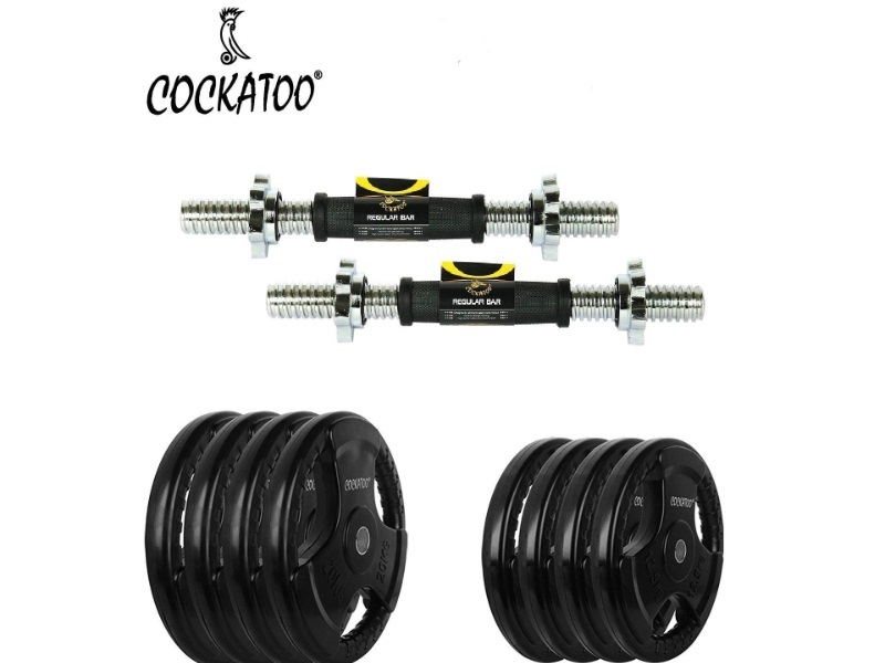 Cockatoo (10 Kg-20 Kg) Dumbbells Set- For professionals