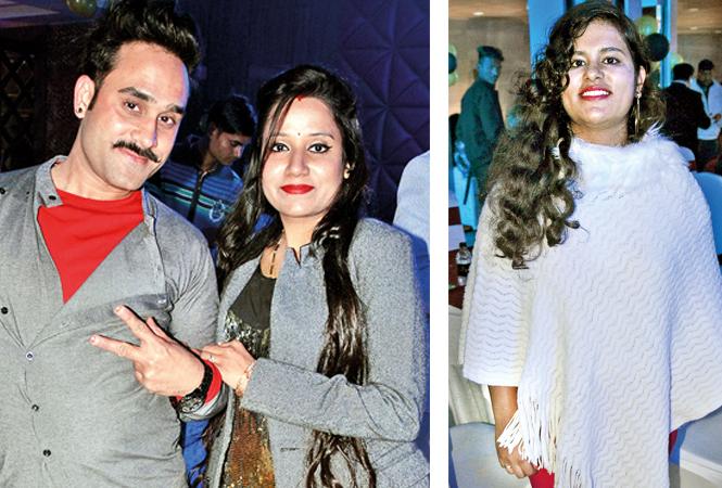 (L) Jatin and Varsha (R) Khushi (BCCL/ IB Singh)