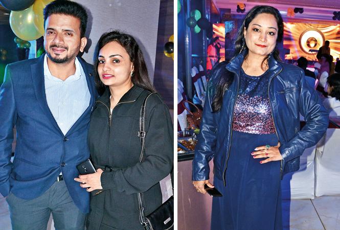 (L) Manish and Sweety (R) Neha Gupta (BCCL/ IB Singh)