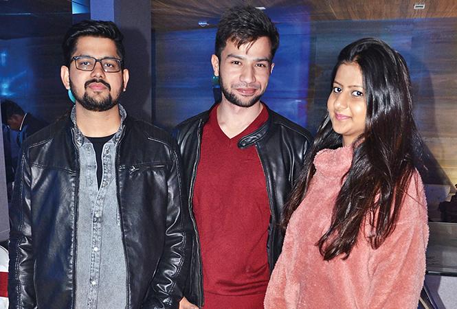(L-R) Abhishek, Rishabh and Pallavi (BCCL/ IB Singh)