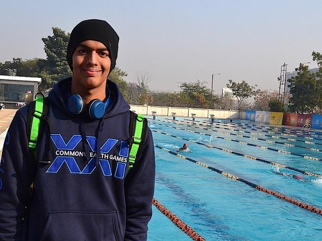 Srihari Nataraj at Khelo India Youth Games
