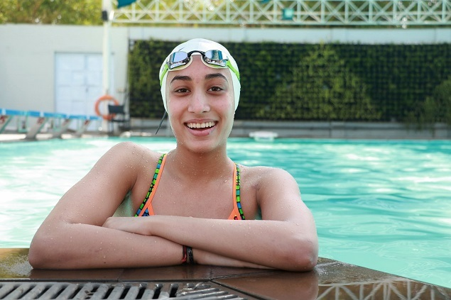 Five years ago, when Maana was just 13 years old, she broke senior swimmer Shikha Tandon's national record in 200m backstroke. File Photo by Ancela Jamindar/BCCL