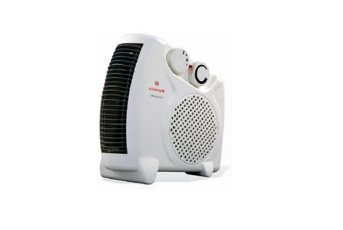 Singer Fan Heater Heat Blow 2000 Watts at 40% off