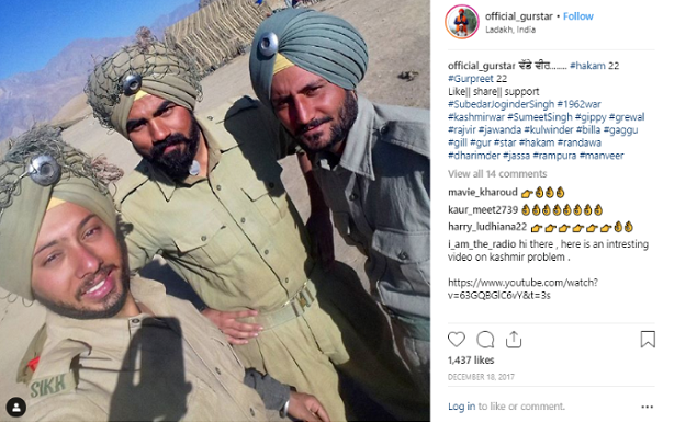 Viral video showing injured Indian Army men is staged