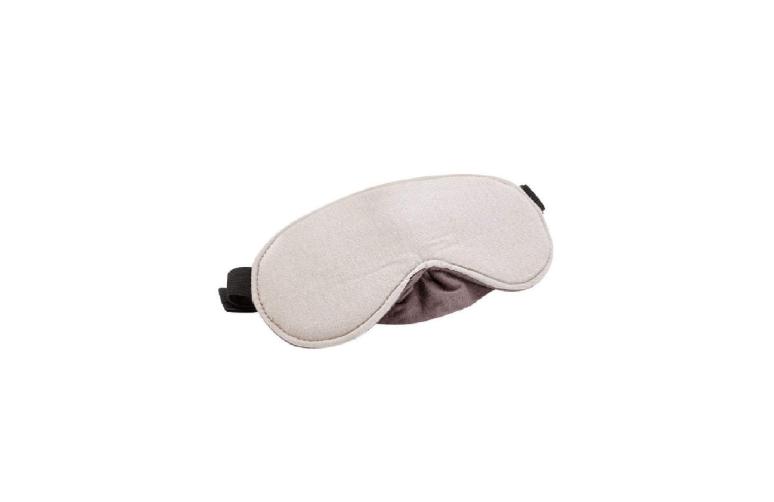 Travel Blue Grey Luxury Travel Eye Mask