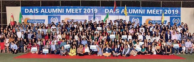 The school's alumni meet, DAISpora, was held on January 5
