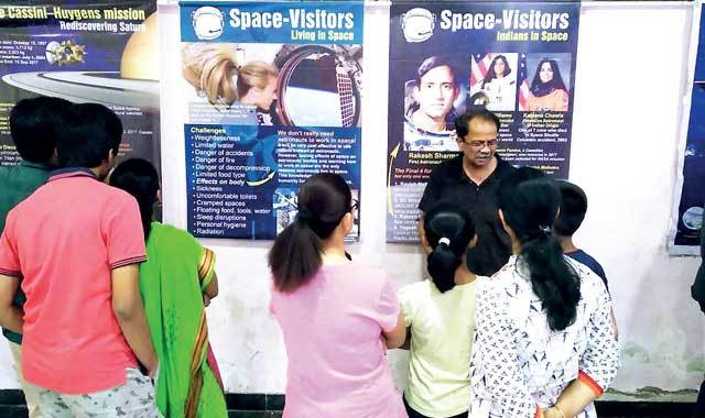 More than 2,500 visitors attend the Space Science Exhibition