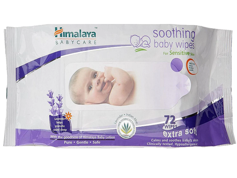Himalaya Herbal baby wipes