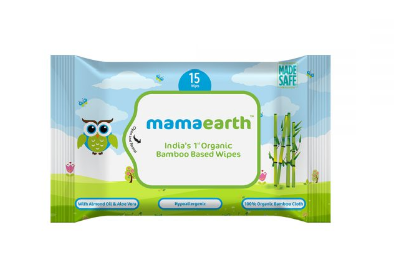 Mama earth baby wipes