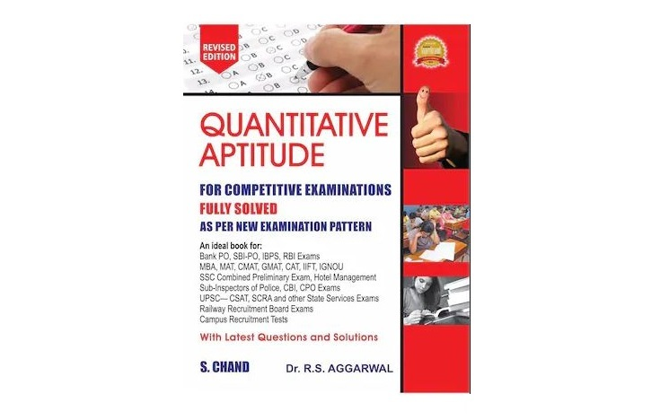Quantitative Aptitude for Competitive Examinations by R.S Aggarwal