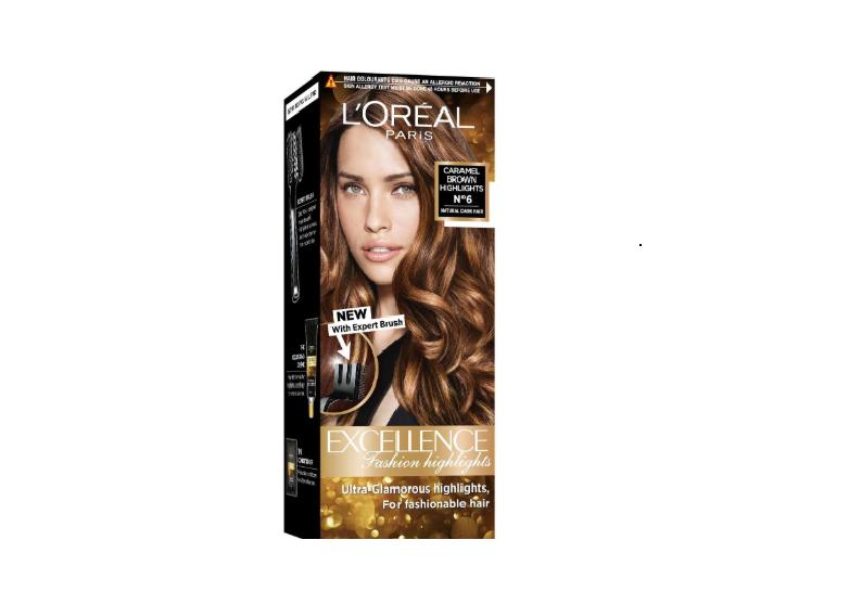 L'Oreal Paris Excellence Fashion Highlights Hair Color Caramel Brown