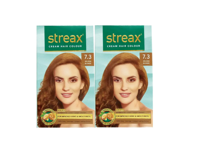 Streax Cream Hair Color 7.3 Golden Blonde