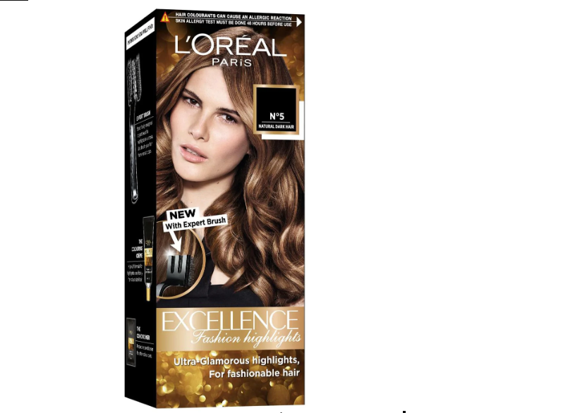 L'Oreal Paris Excellence Fashion Highlights Hair Color Honey