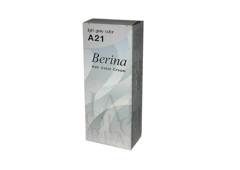 Berina Silver Ash Grey Permanent Hair Color Cream