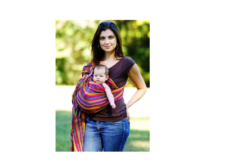 Maya Wrap Lightly Padded Baby Ring Sling Carrier