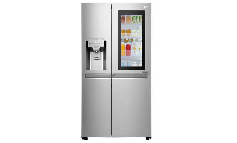 LG 668 L Frost Free Side-by-Side InstaView Door-in-Door Refrigerator