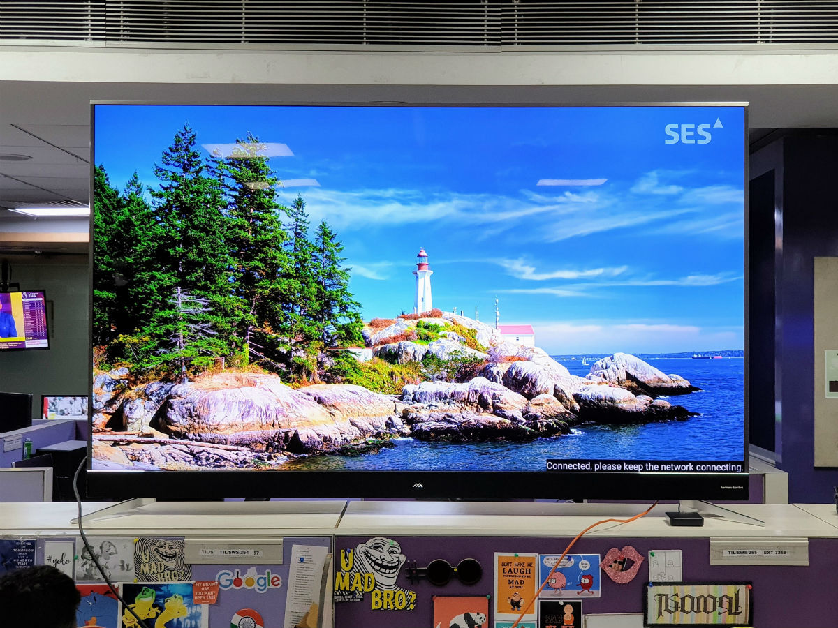 tcl iffalcon 75h2a review: iFFALCON 75H2A TV review: Size does