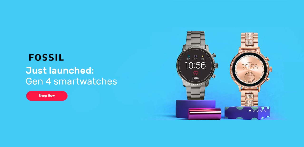 Fossil Smartwatch Generation 4 Launch