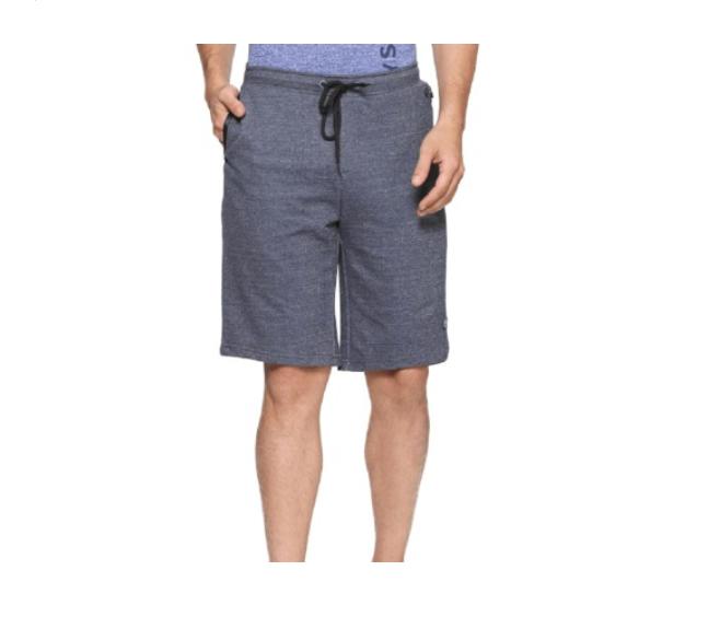 Allen Solly Blue Regular Fit Shorts