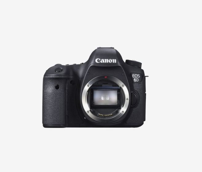 Up to 32% off on Canon EOS 6D DSLR Black