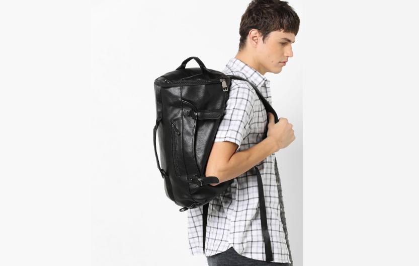 Duffel Travel Bag with Adjustable Shoulder Straps