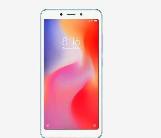 16% off Xiaomi Redmi 6 64 GB (Blue)