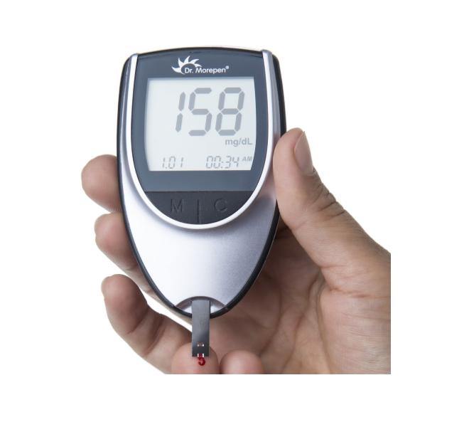 Dr. Morepen glucose monitor (GlucoOne BG-03)