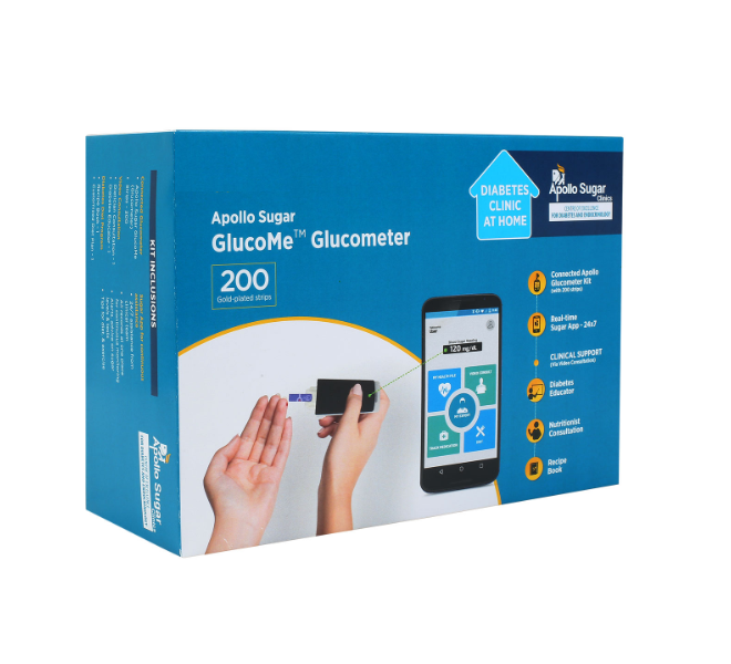 Apollo Sugar GlucoMe glucometer