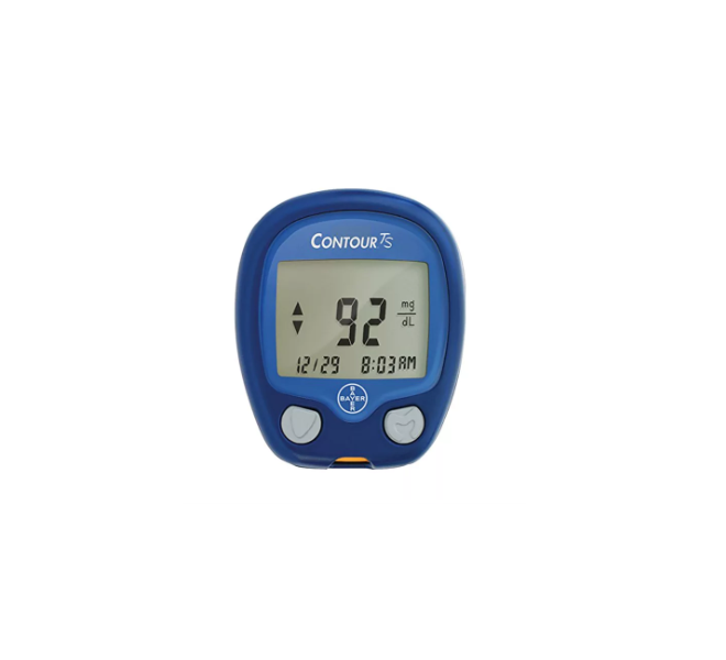 Bayer Contour TS blood glucose meter
