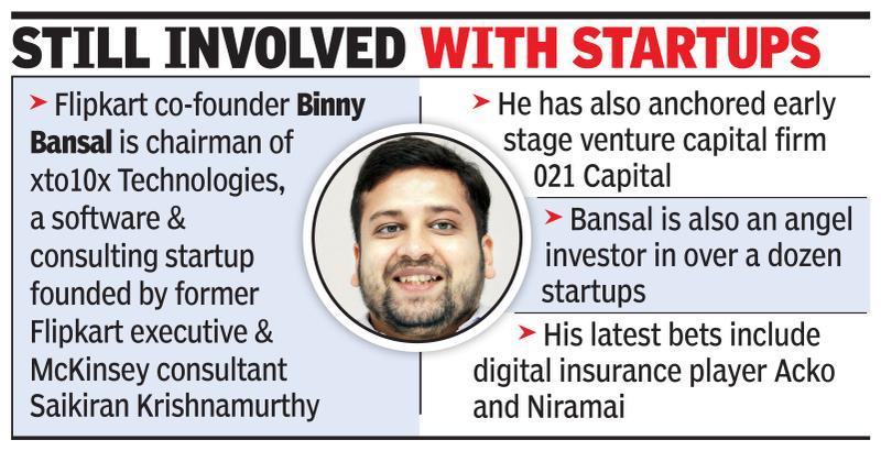 Concerned about constant e-policy changes by govt, says Binny Bansal