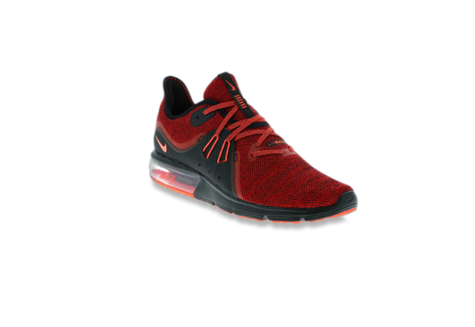 Nike Air Max Sequent Red Running Shoes