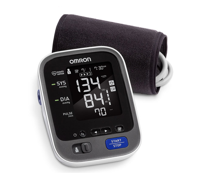 Omron 10 series wireless upper arm BP monitor