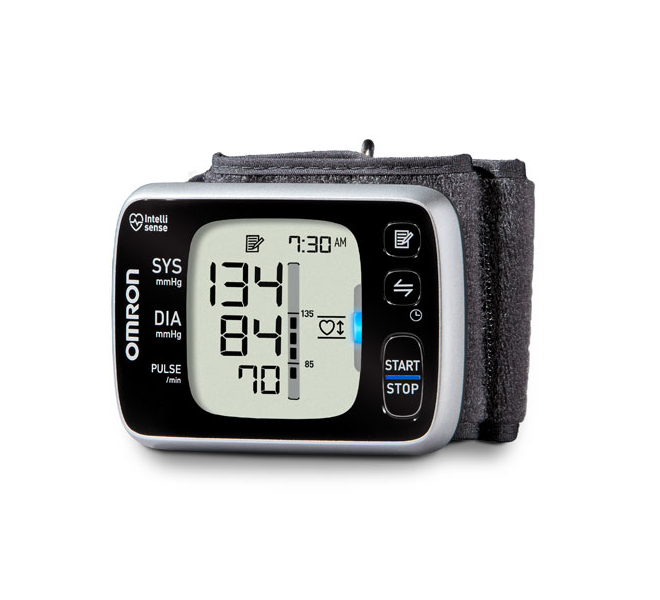Omron 10 series wireless wrist BP monitor
