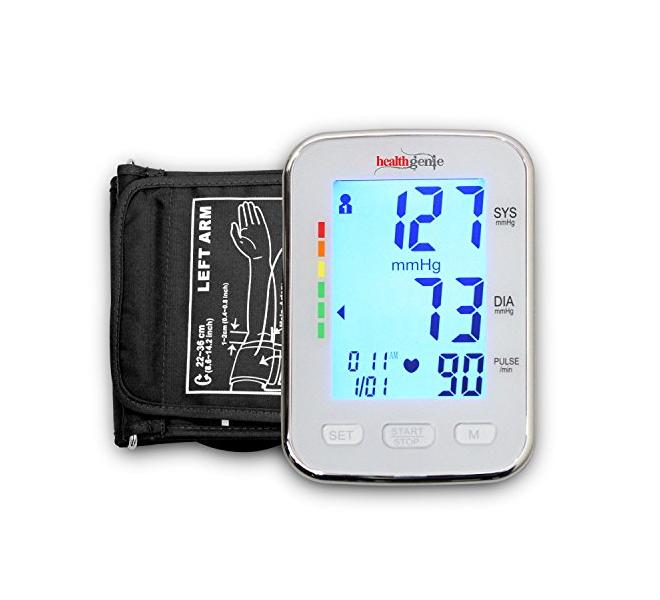 Healthgenie BPM04BL digital upper arm blood pressure monitor