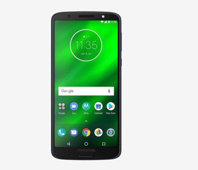 Motorola G6 Plus 64 GB (Black) 6 GB RAM