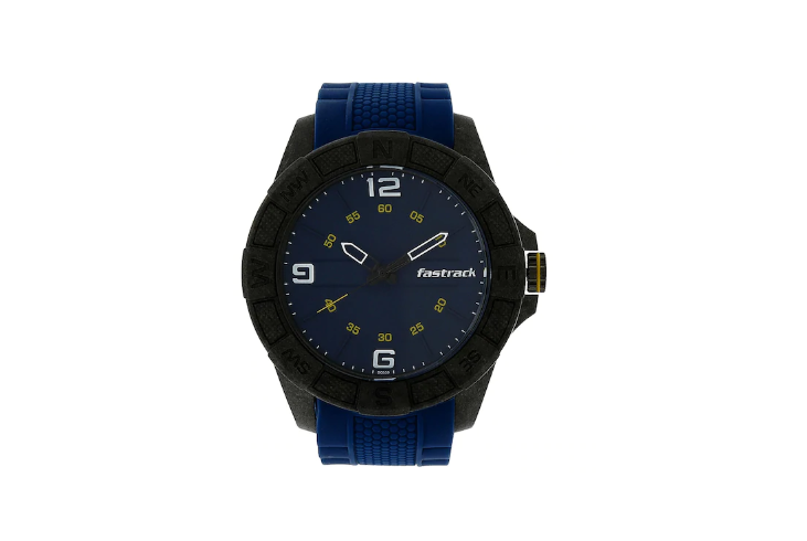 Fastrack Lightweight Blue Silicone Strap Watch